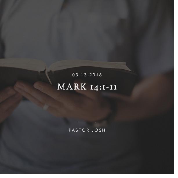Mark 14:1-11