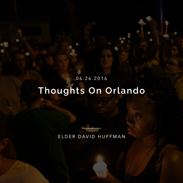 Thoughts On Orlando