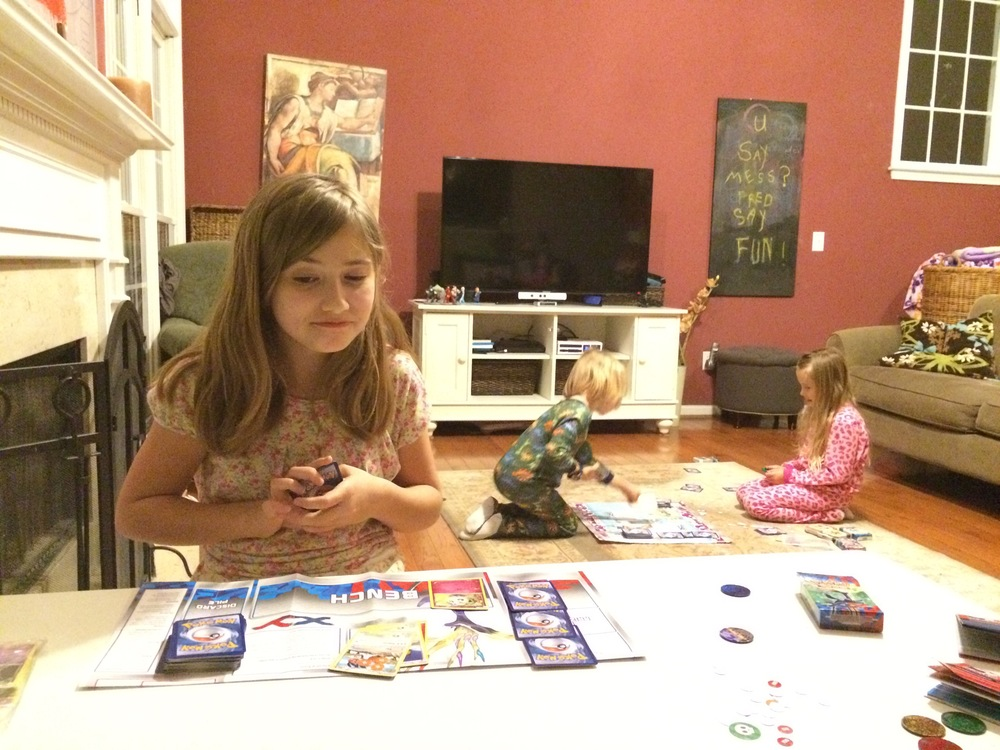 family pokemon fun