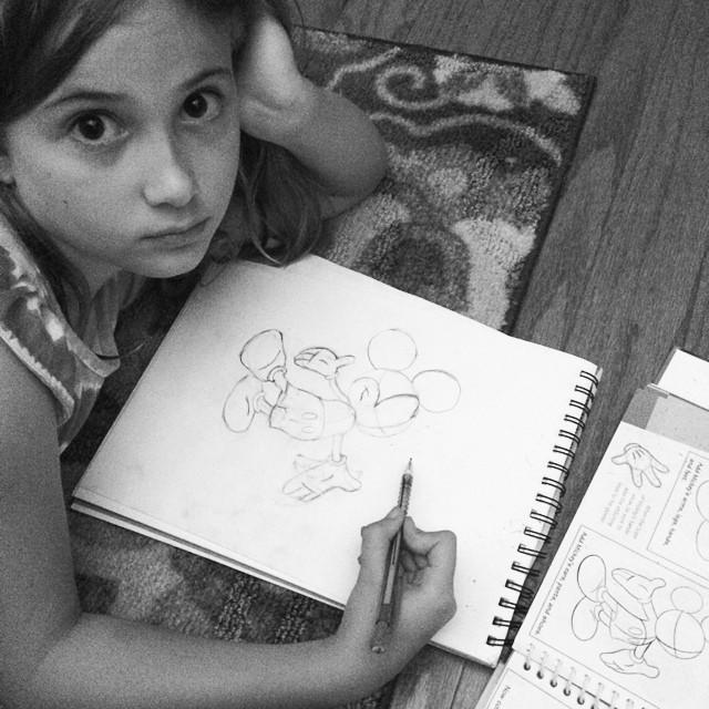 Post-Disney. (age 9)