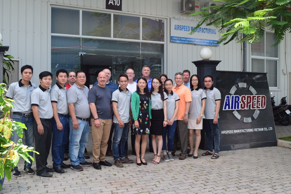 Airspeed vietnam team
