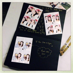 CREATE an instant photo booth album | PHOTO CREDIT:  Photoautomatica (www.photoautomatica.co.nz)