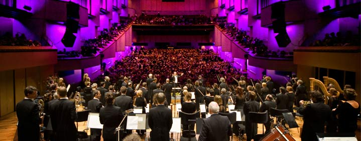 Queensland Symphony Orchestra (QSO), Brisbane.  Photo courtesy of QSO