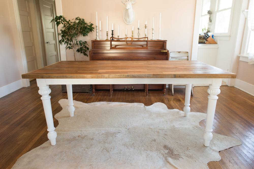 Reclaimed Farm Dining Table