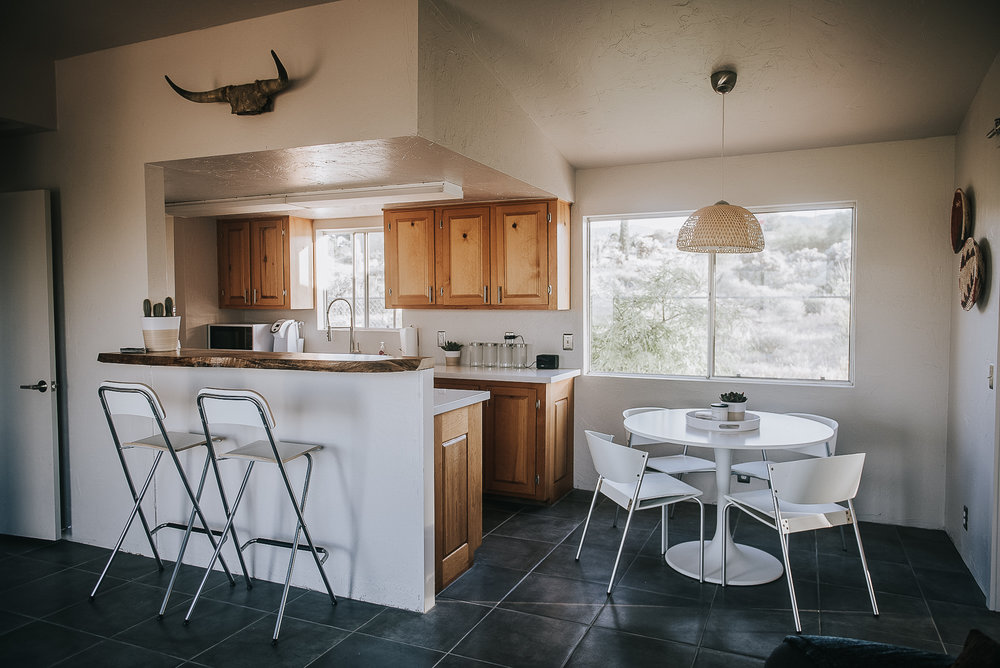 joshua tree, air bnb, home design, interior design, southwest, desert, rental, vacation rental, arbor and co