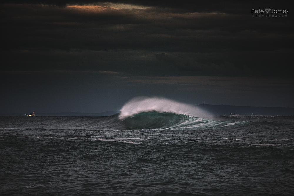Speed blur wave
