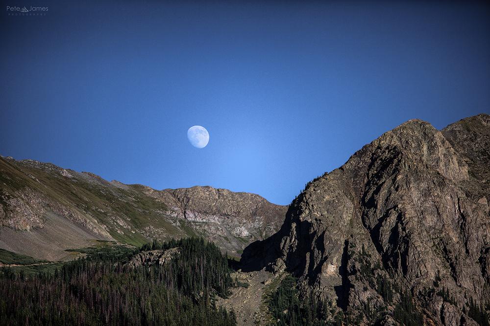 Silverton moon rise- Colorado