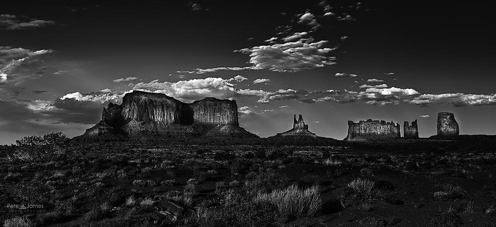 Monument Valley B&W - Utah