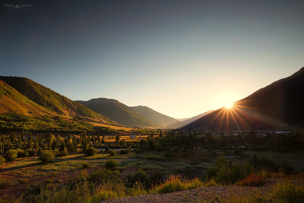 Silverton Sunrise #3 - Colorado