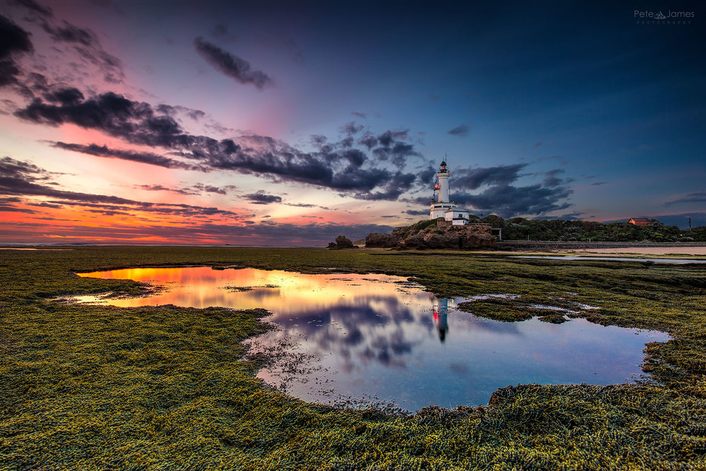 Point Lonsdale lighthouse reflection