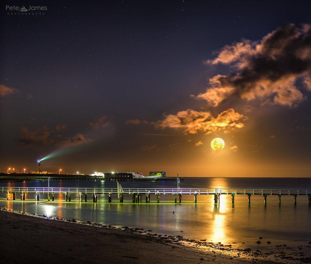 Moon light _ Queenscliff