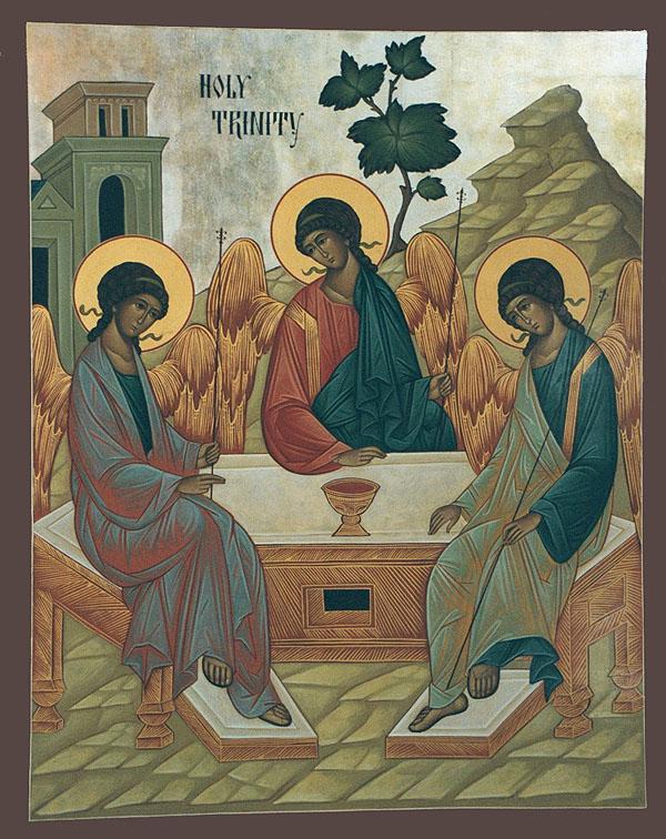 God the Holy Trinity — St  Andrew Greek orthodox Church