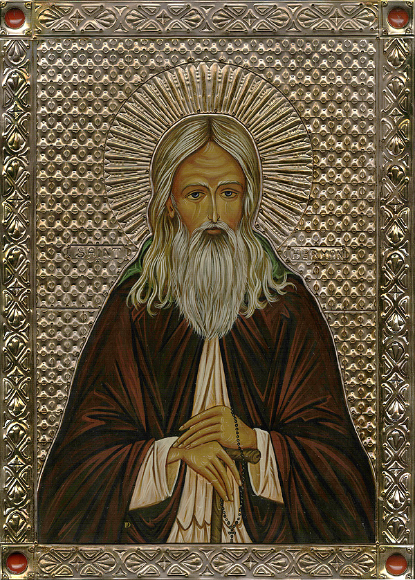 Saint Herman of Alaska — St  Andrew Greek orthodox Church