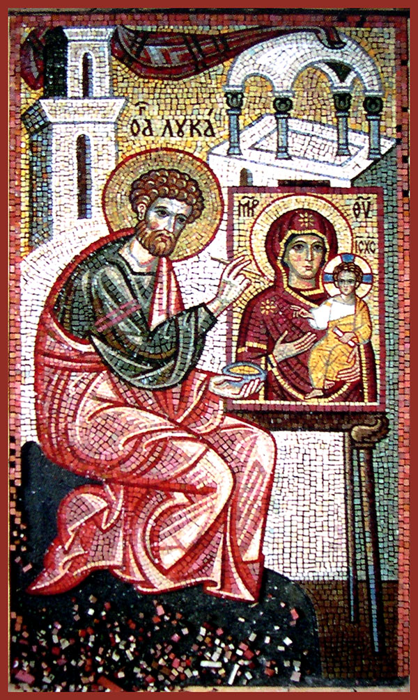 The Feastday Of Saint Luke The Evangelist And Apostle October 18