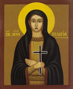 Virginmarytr Pelagia of Tarsus, in Asia Minor
