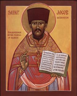 St. Jacob Nestsvetov, Enlightener of Alaska Please click on Icon to view bulletin