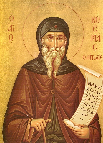 Repose of the New-Hieromartyr Cosmas of Aetolia, Equal of the Apostles