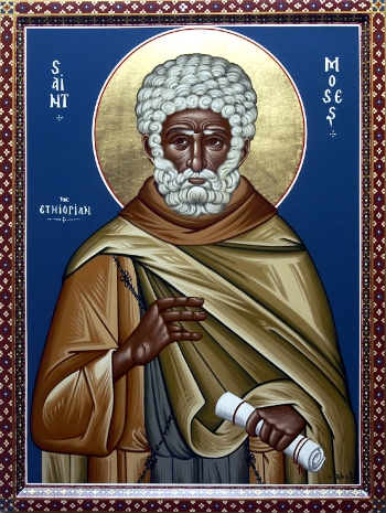 Venerable Moses the Black of Scete