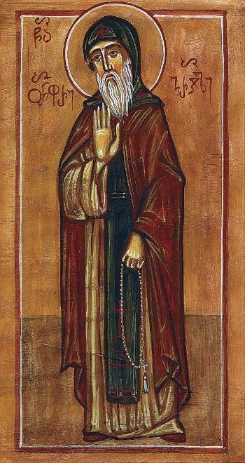 Saint Onuphrius of the St. David Gareji Monastery, Georgia