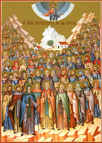 99 Martyred Fathers of Crete