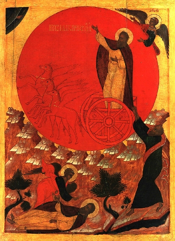 Holy Glorious Prophet Elijah Please click on Icon to view bulletin