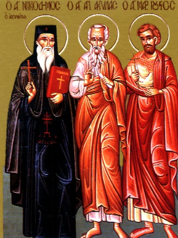 Saint Nikodemos of the Holy Mountain