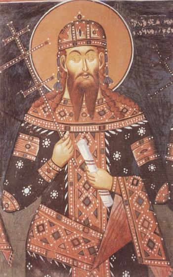 St. Stephen Urosh, King of Serbia