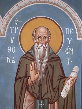 Venerable Tryphon the Abbot of Pechenga (Kolsk)