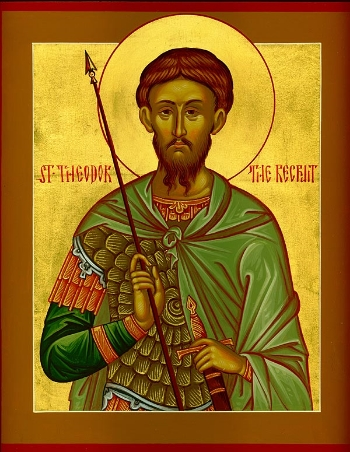 "St. Theodore the Tyro (""the Recruit"")"
