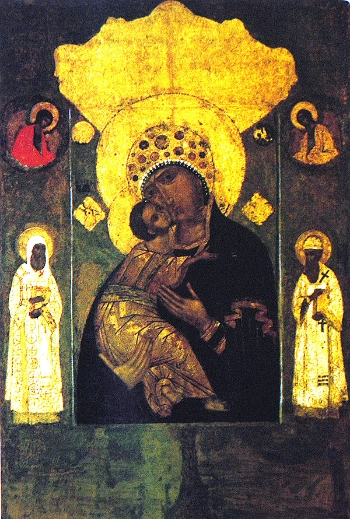 Icon of the Mother of God of Volokolamsk