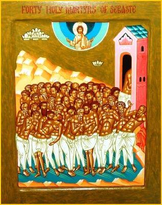 40 Holy Martyrs of Sebaste