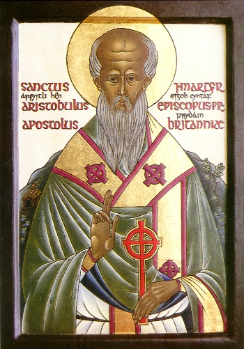 Apostle Aristobulus of the Seventy the Bishop of Britain