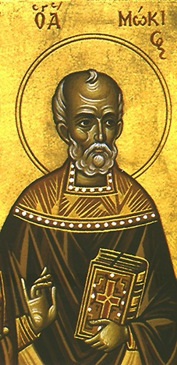 Hieromartyr Mocius the Presbyter of Amphipolis in Macedonia