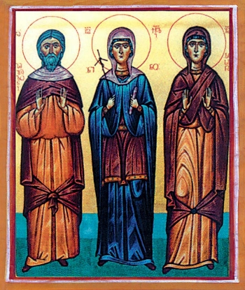 Glorification of the Venerable Sosana (Susan), the mother of St. Nino the Enlightener of Georgia