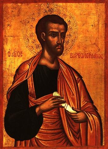 Apostle Bartholomew of the Twelve
