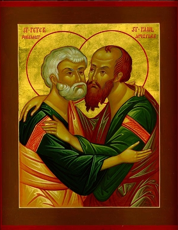 The Holy Glorious and All-Praised Leaders of the Apostles, Peter and Paul