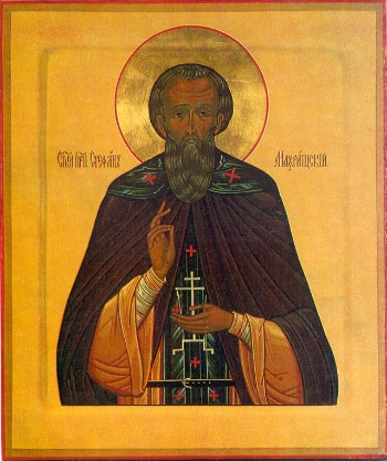 Venerable Stephen the Abbot of Makhrishche, Vologda