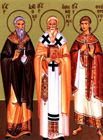 Martyr Antiochus the Physician of Sebaste