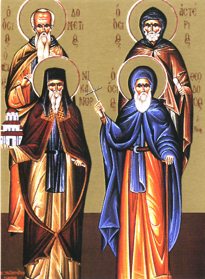 St. Nicanor the Wonderworker  Please click on Icon to view bulletin