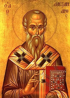 St. Alexander the Patriarch of Constantinople