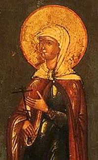 Martyr Charitina of Amisus