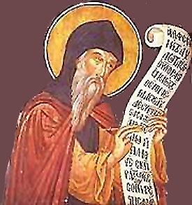 St. Cosmas the Hymnographer the Bishop of Maiuma