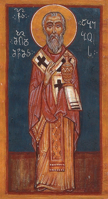 Hieromartyr Abibus, Bishop of Nekresi in Georgia