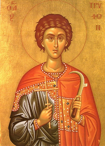 Martyr Tryphon of Campsada near Apamea in Syria