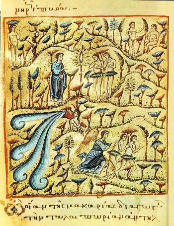 Expulsion of Adam and Eve from Paradise Please click on Icon to view bulletin