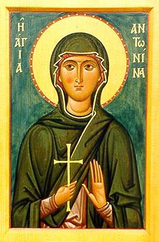 Martyr Antonina of Nicea, in Bithynia