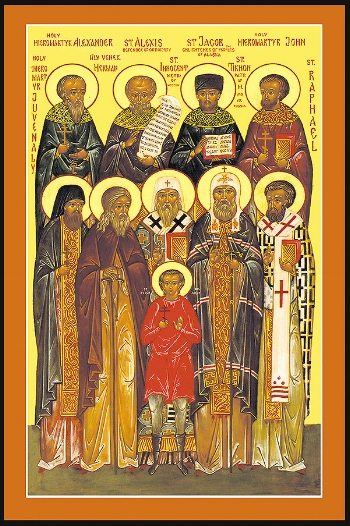 Synaxis of the Saints of North America  Please click on Icon to view bulletin