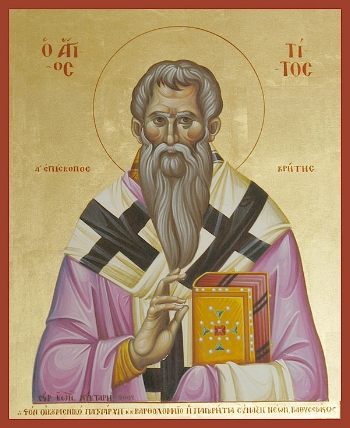 Apostle Titus of the Seventy and Bishop of Crete