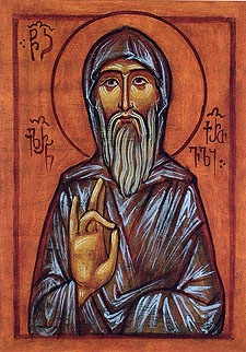 Venerable Hilarion the Monk  Please click on Icon to view bulletin