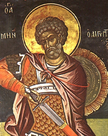 Martyr Menas of Alexandria Please click on Icon to view bulletin